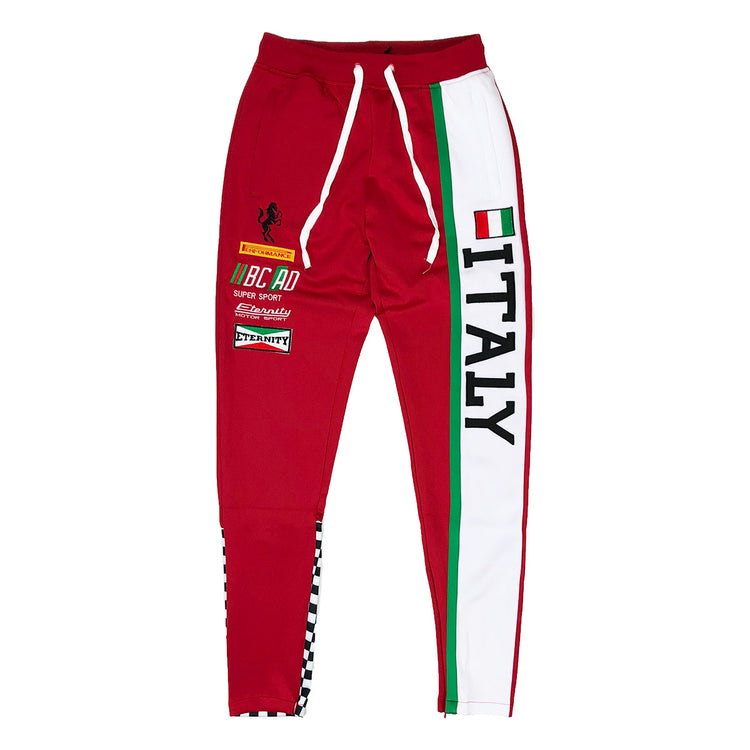 Eternity BC / AD Italy Moto Track Pants Red