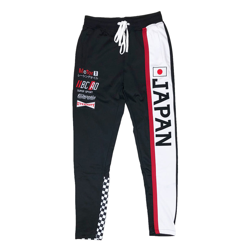 Eternity BC / AD Japan Moto Track Pants Black