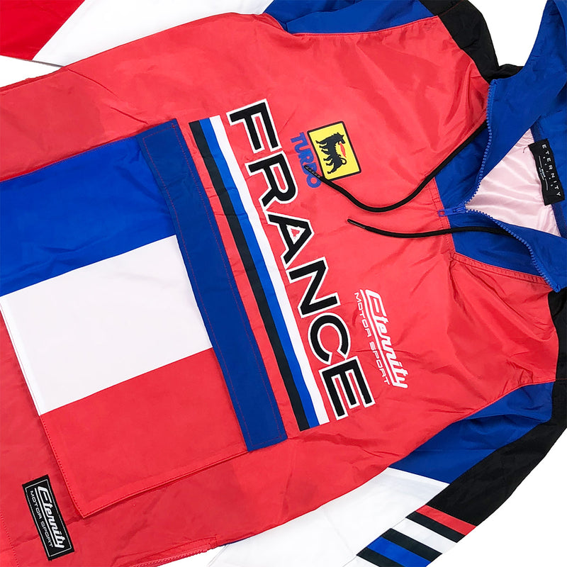 Eternity BC / AD France Racing Windbreaker Red Front