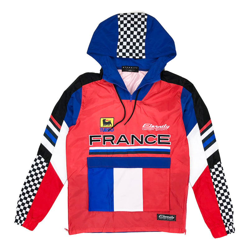 Eternity BC / AD France Racing Windbreaker Red
