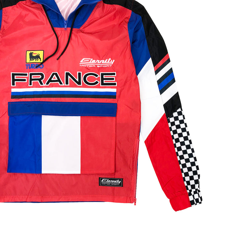 Eternity BC / AD France Racing Windbreaker Red Logo