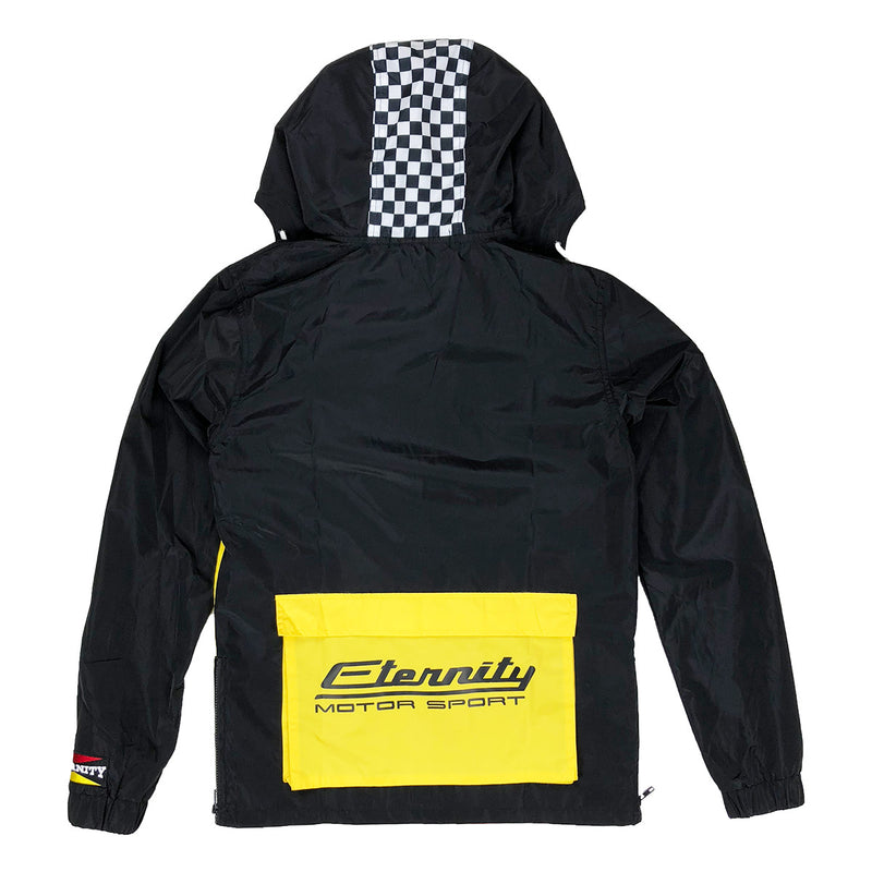 Eternity BC / AD Germany Moto Windbreaker Black Back