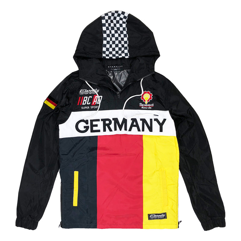 Eternity BC / AD Germany Moto Windbreaker Black