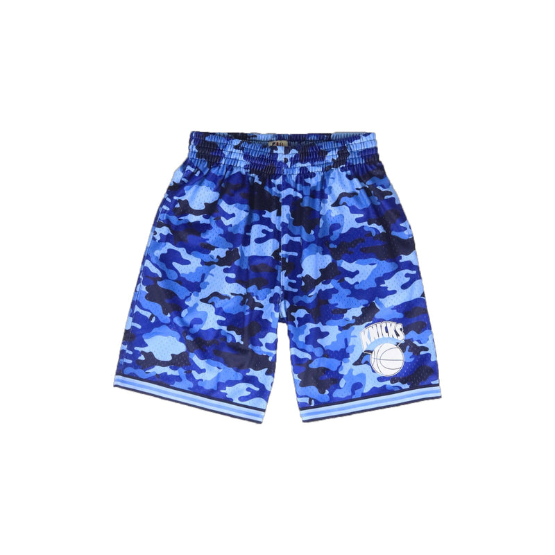 Mitchell & Ness New York Knicks Camo Mesh Shorts