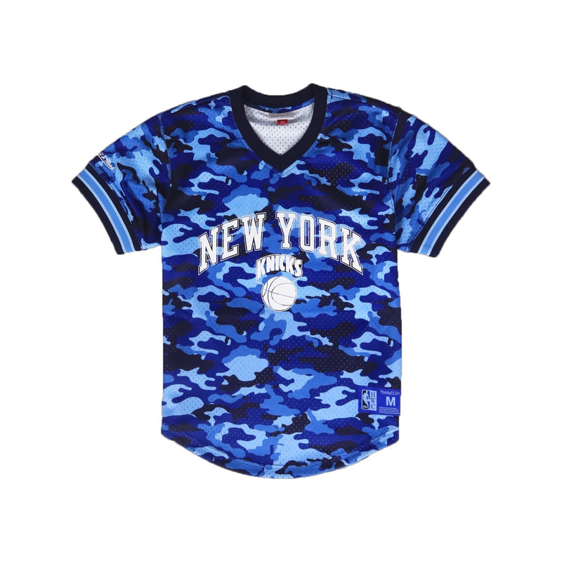 Mitchell & Ness New York Knicks Mesh V Neck