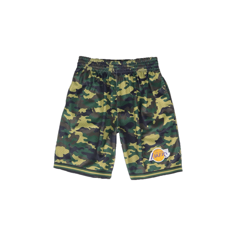 Mitchell & Ness Los Angeles Lakers Camo Mesh Shorts