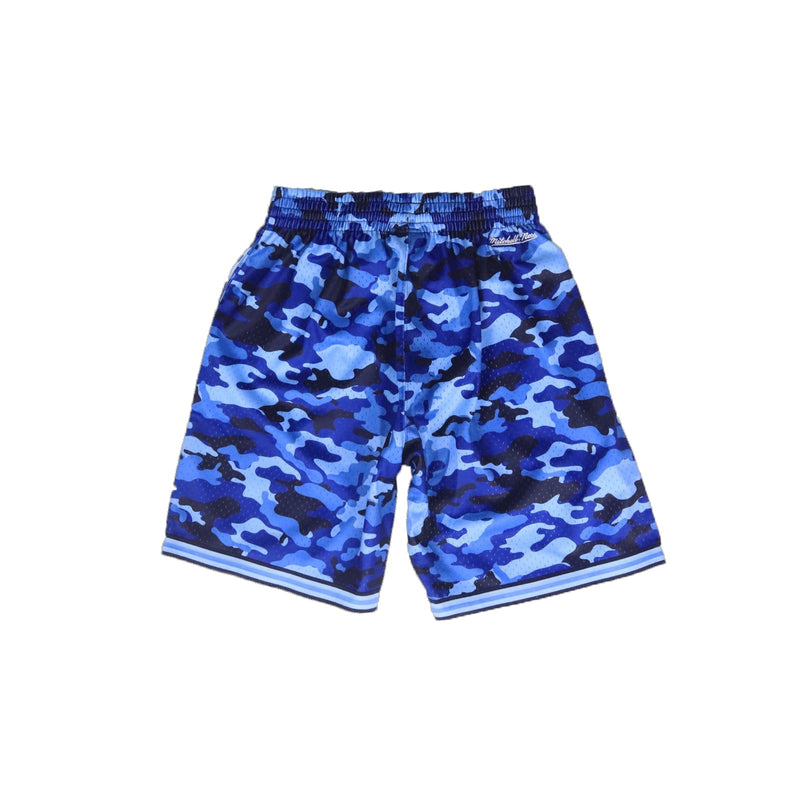Mitchell & Ness New York Knicks Camo Mesh Shorts Back