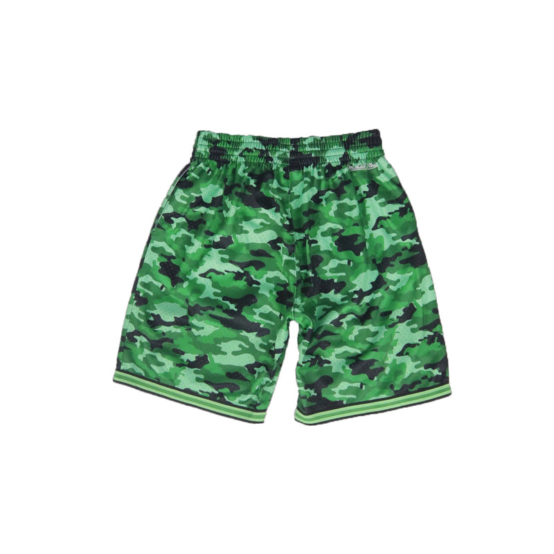 Mitchell & Ness Milwaukee Bucks Camo Mesh Shorts Back