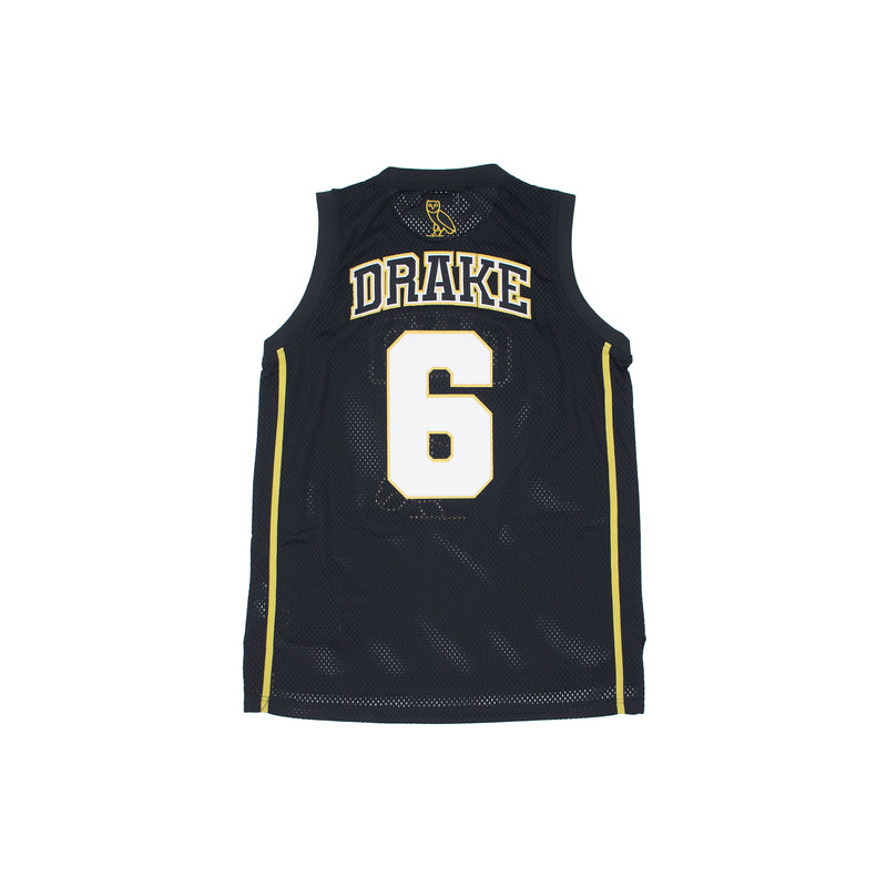 Headgear Classics Drake OVO Basketball Jersey Black Back