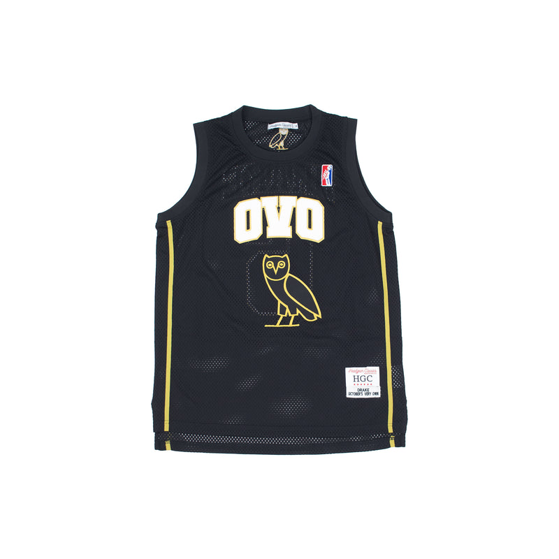 Headgear Classics Drake OVO Basketball Jersey Black