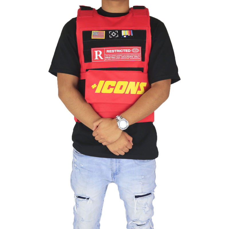 Hudson Outerwear Icons Vest Red