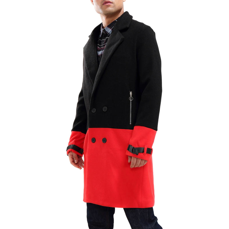 Hudson Outerwear Half Way There Car Coat Red