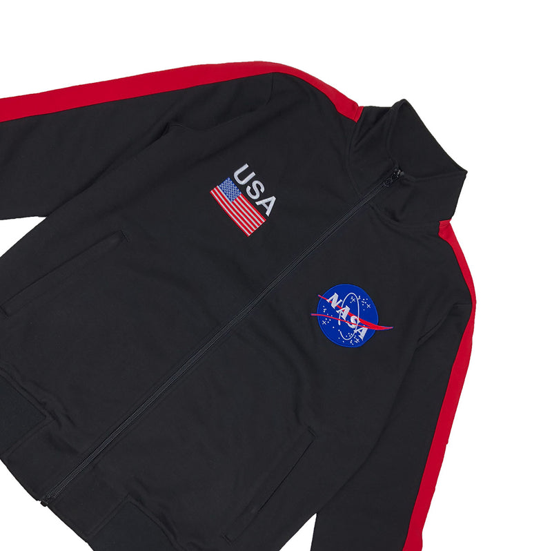 Hudson Outerwear NASA Track Jacket Black Front