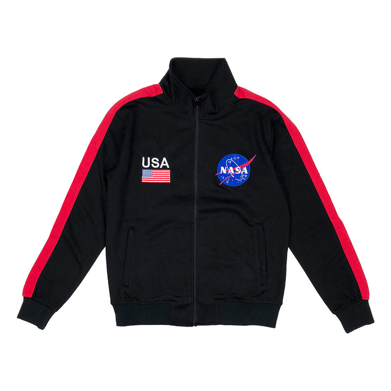 Hudson Outerwear NASA Track Jacket Black