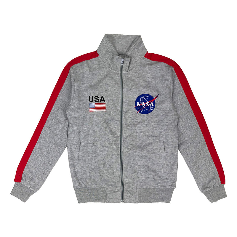 Hudson Outerwear NASA Track Jacket Grey