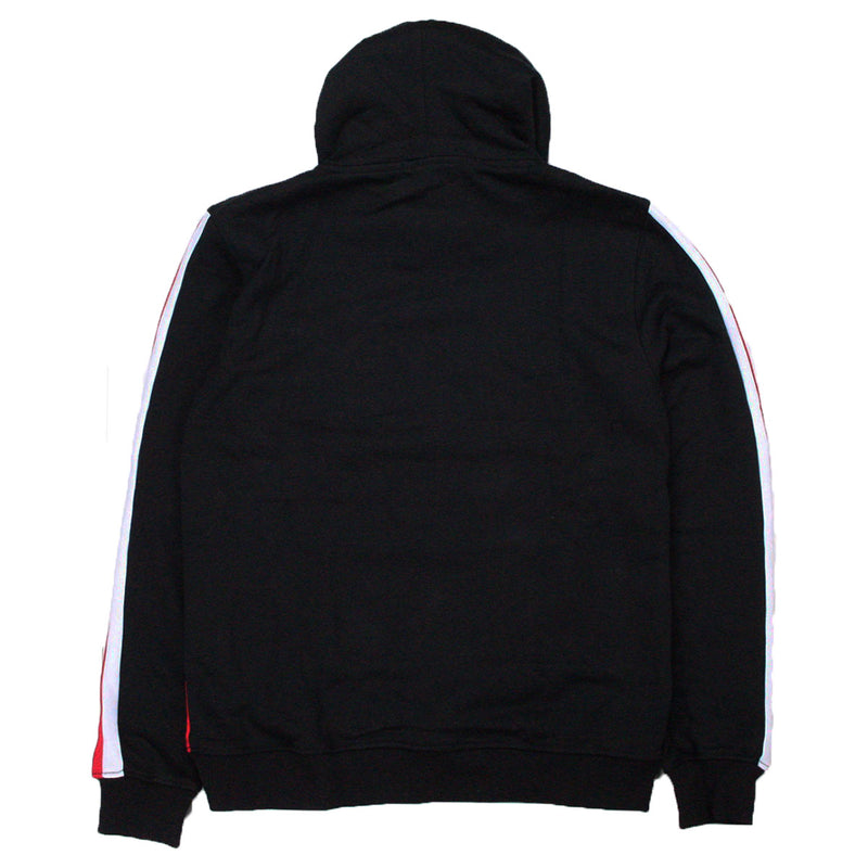 Hudson Outerwear NASA Script Pullover Hoodie Black Back