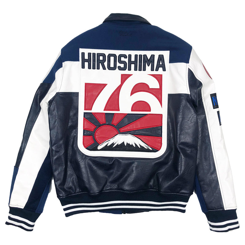 Iro-Ochi 76 Hiroshima Jacket Navy Blue Back