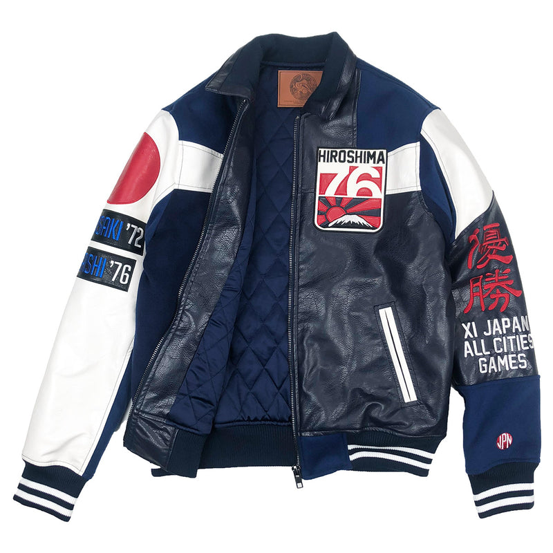Iro-Ochi 76 Hiroshima Jacket Navy Blue Opened