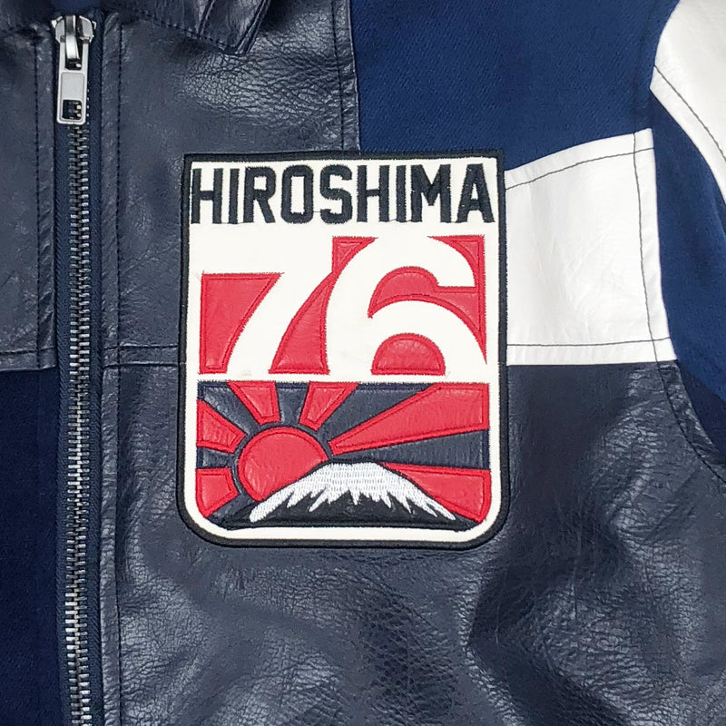 Iro-Ochi 76 Hiroshima Jacket Navy Blue Artwork