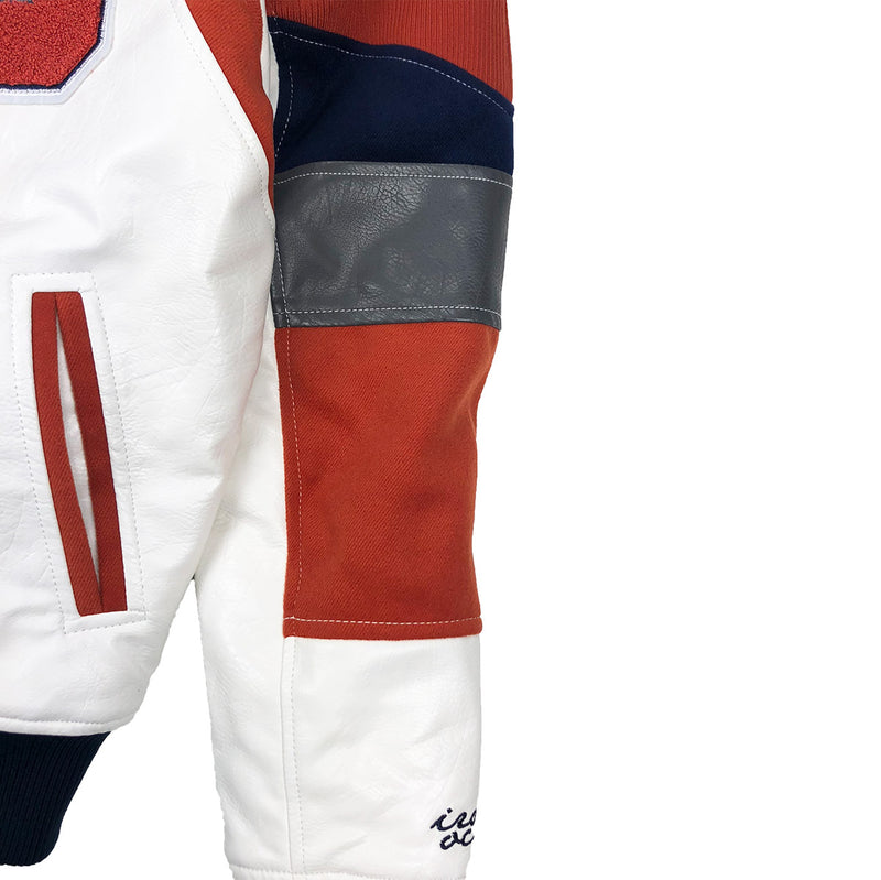 Iro-Ochi 92 Kanagawa Team Jacket Navy Blue Left Sleeve