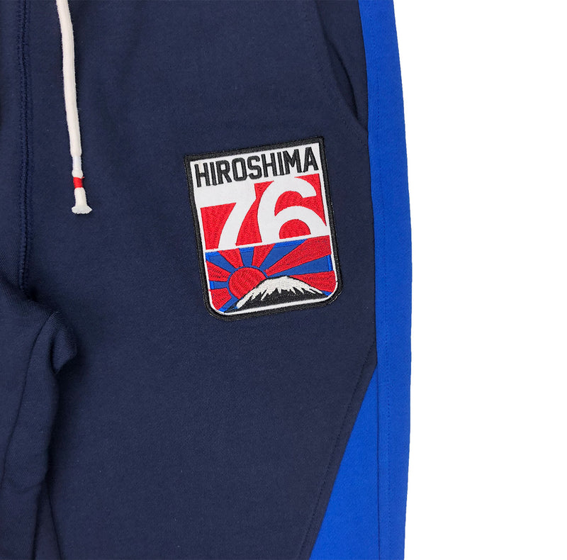 Iro-Ochi Chimu Sweatpants Navy Blue Artwork