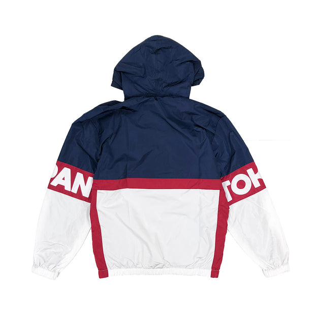 Iro-Ochi Off Course Windbreaker Navy Back