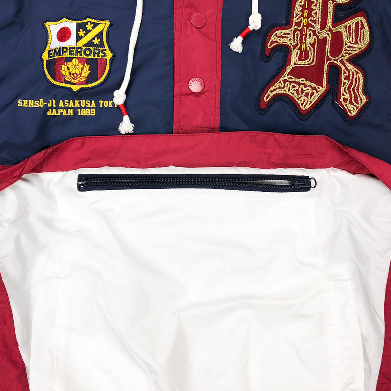 Iro-Ochi Off Course Windbreaker Navy Zipper
