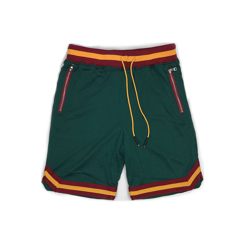 Jordan Craig Essential Basketball Shorts Green
