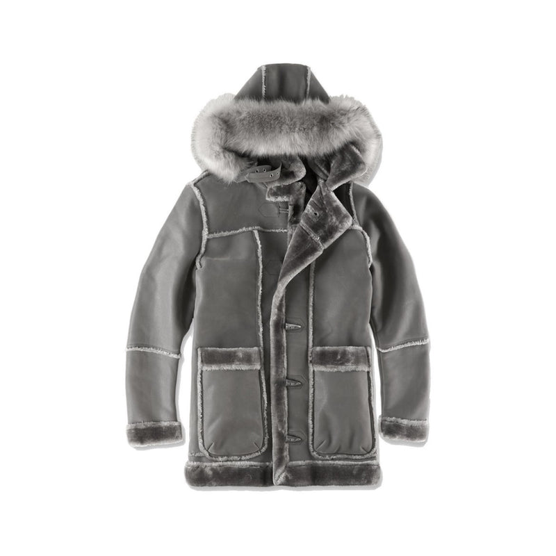 Jordan Craig Men's Denali Shearling Jacket Charcoal