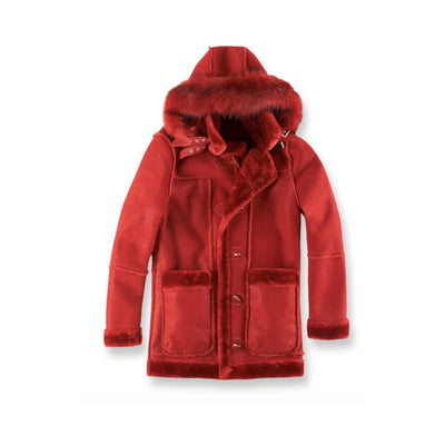 Jordan Craig Men's Denali Shearling Jacket Red