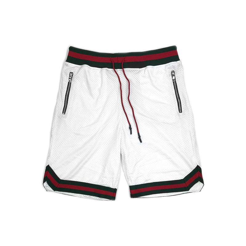 Jordan Craig Rucker Basketball Shorts White