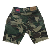 Jordan Craig - Toddlers - Camo Biker Shorts - Woodland - Back