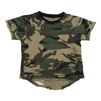 Jordan Craig - Toddlers - Camo Shredded Tee - Woodland