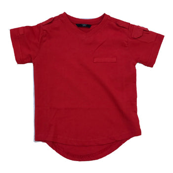 Jordan Craig - Toddlers - Military Tee - Red