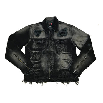 Jordan Craig - Mens - Shotgun Denim Jacket - Black Raven