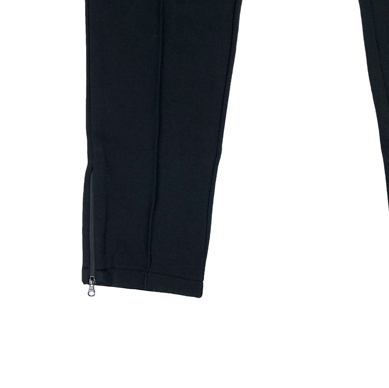 Lacoste Live Embroidered Fleece Urban Jogging Pants Black Zipper