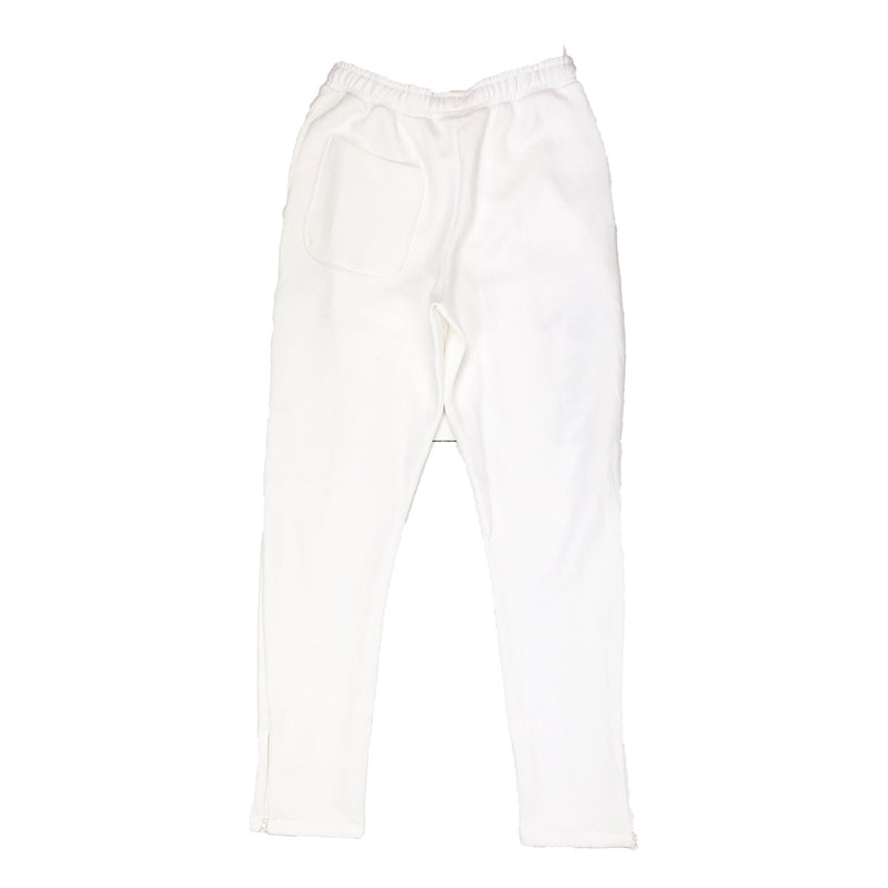 Lacoste Live Embroidered Fleece Urban Jogging Pants Cream Back