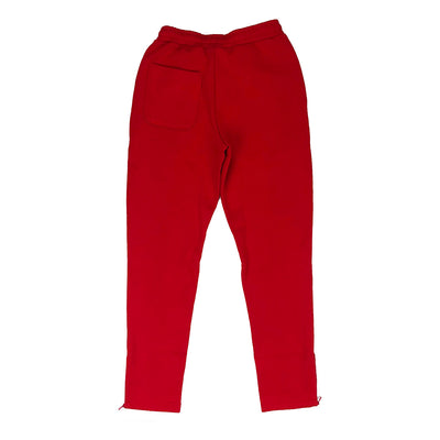 Lacoste Live Embroidered Fleece Urban Jogging Pants Red Back