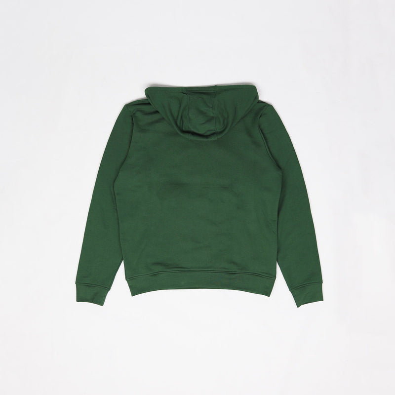 Lacoste Men's Big Croc Script Hoodie Green Back