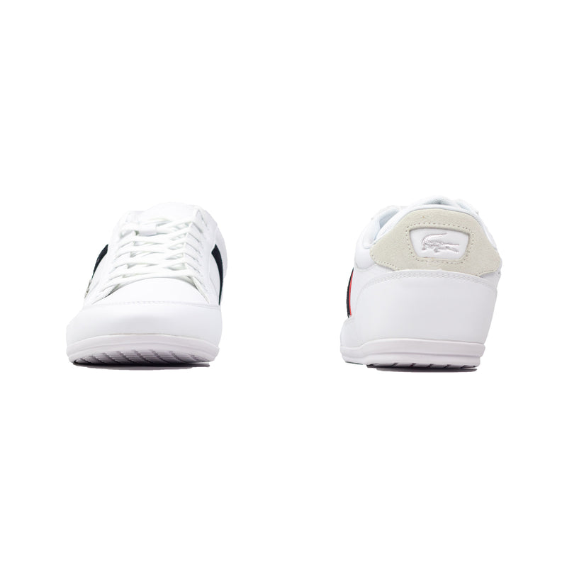 Lacoste Men's Chaymon Sneakers White / Black Front & Back