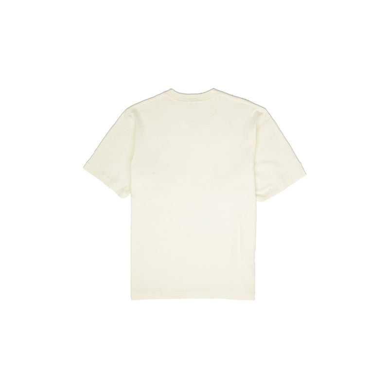 Lacoste Men's Crew Neck Cotton T-Shirt Cream Back