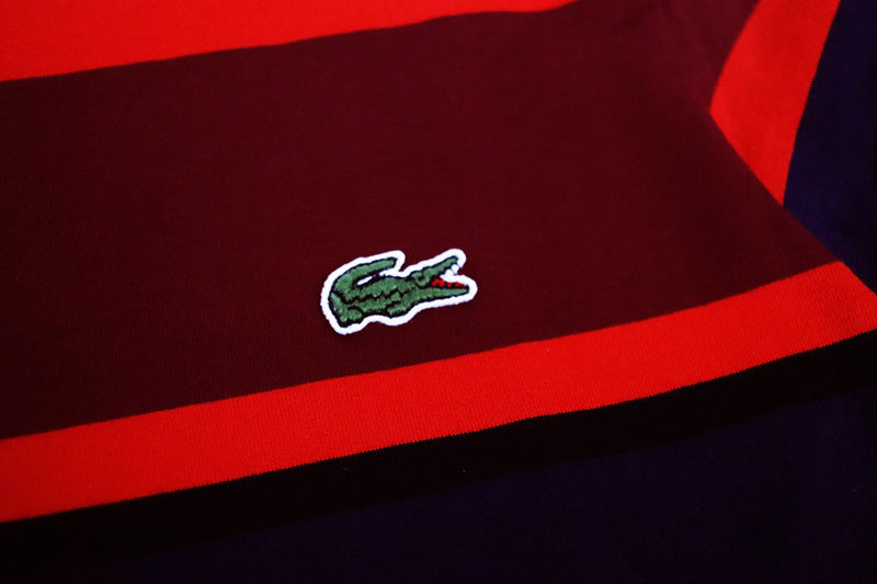 Lacoste Men's Crew Neck Cotton T-Shirt Red Gator