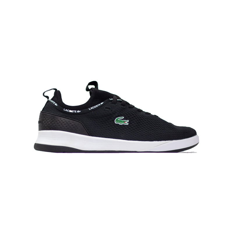Lacoste Men's LT Spirit 2.0 Textile Trainers Black Right