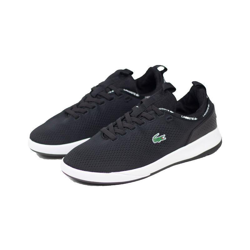 Lacoste Men's LT Spirit 2.0 Textile Trainers Black