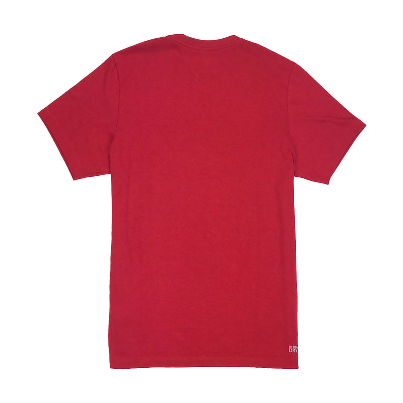 Lacoste Sport Oversized Croc Graphic T-Shirt Ladybug Red Back