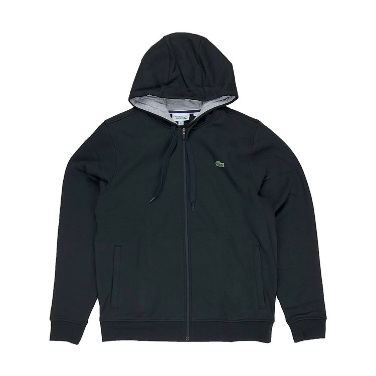 Lacoste Sport Hooded Fleece Tennis Sweatshirt