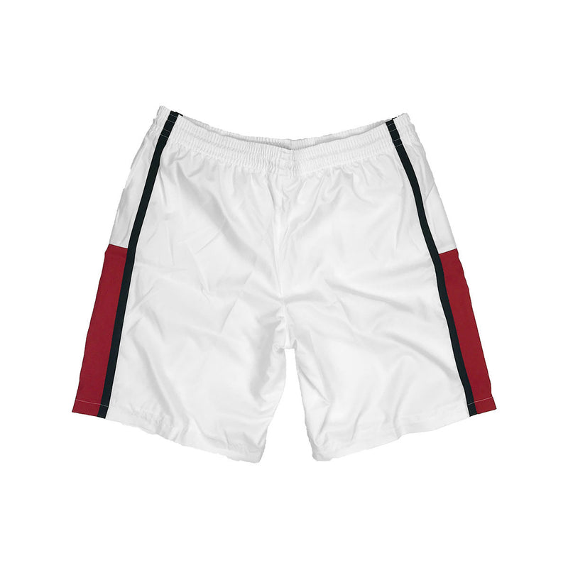 Lacoste Sport Taffeta Tennis Shorts White Back