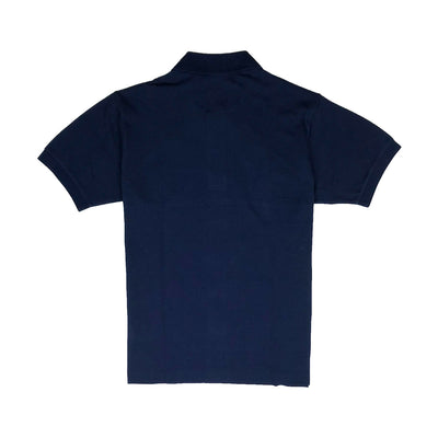 Lacoste Men's L.12.12 Lacoste Disney Mickey Embroidery Petit Pique Polo Navy Blue Back