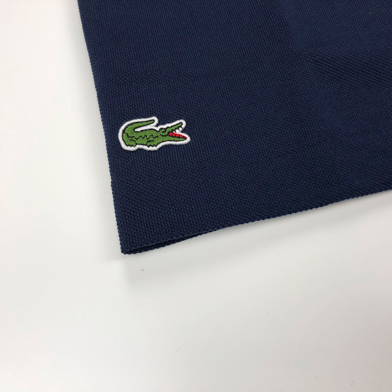8f381ead5 Lacoste Men's L.12.12 Lacoste Disney Mickey Embroidery Petit Pique Polo Navy  Blue Crocodile
