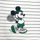 Lacoste Men's L.12.12 Lacoste Disney Mickey Embroidery Petit Pique Polo White / Green Artwork